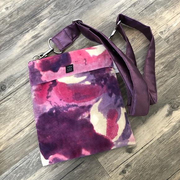 1154 Lill Studio Handbags - NWT velour crossbody bag